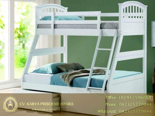 Tempat Tidur Anak Tingkat Cat Duco