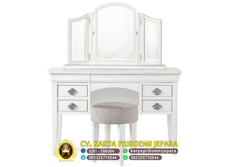 Meja Rias Putih Minimalis