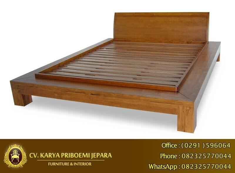 Tempat Tidur Jati Minimalis Murah, Tempat Tidur Minimalis, Tempat Tidur Minimalis Modern, Tempat Tidur Kayu Minimalis