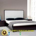 Tempat Tidur Bella Minimalis Kayu Jati