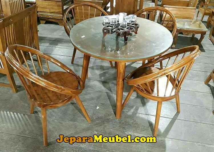 Harga Meja Cafe Kayu Jati Terbaru