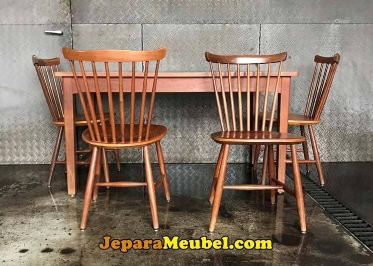 Meja Cafe Kayu Jati Kualitas Terbaik